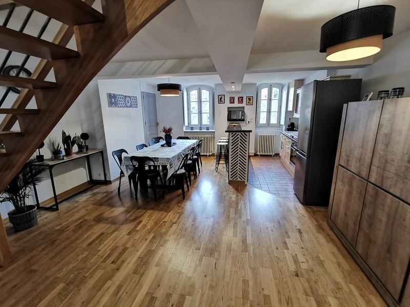 Grand appartement belles prestations coeur de Blois à proximité château et Loire, holiday rental in Saint-Gervais-la-Foret