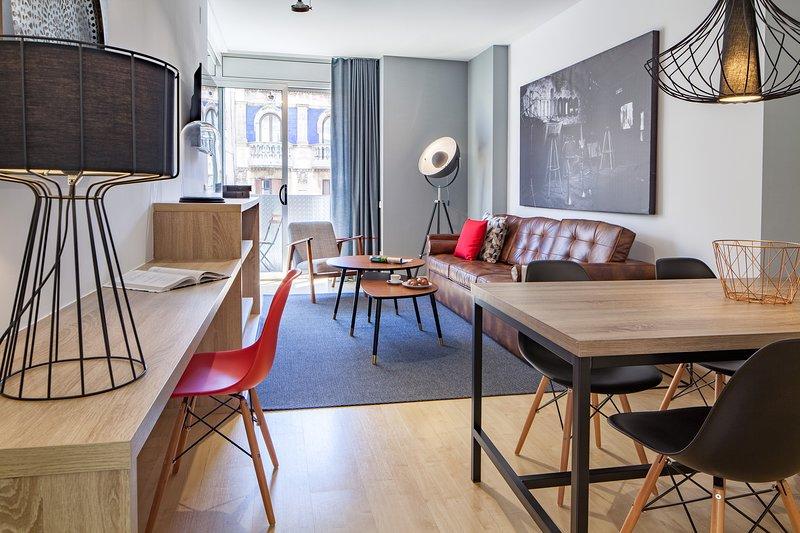 Amazing apartment 2 bedroom near Sagrada Familia, vacation rental in Vallmanya