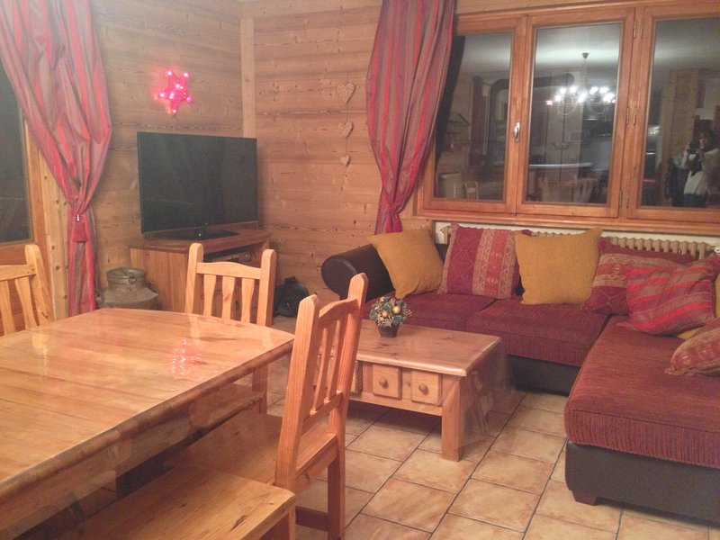 Amazing apt with mountain view, holiday rental in Notre Dame de Bellecombe