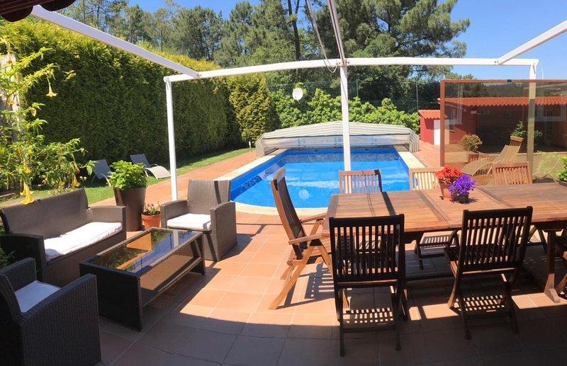 preciosa casa de madera, vacation rental in Sanxenxo