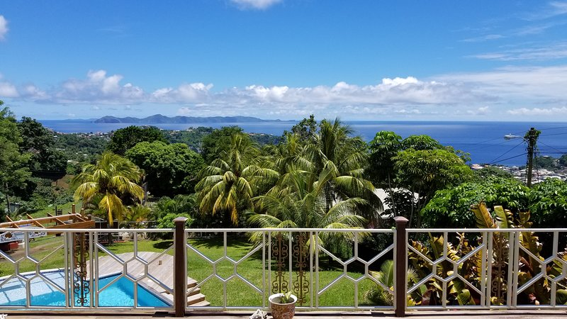 forst villa-Best ocean view In St.Vincent!!!, vacation rental in Kingstown