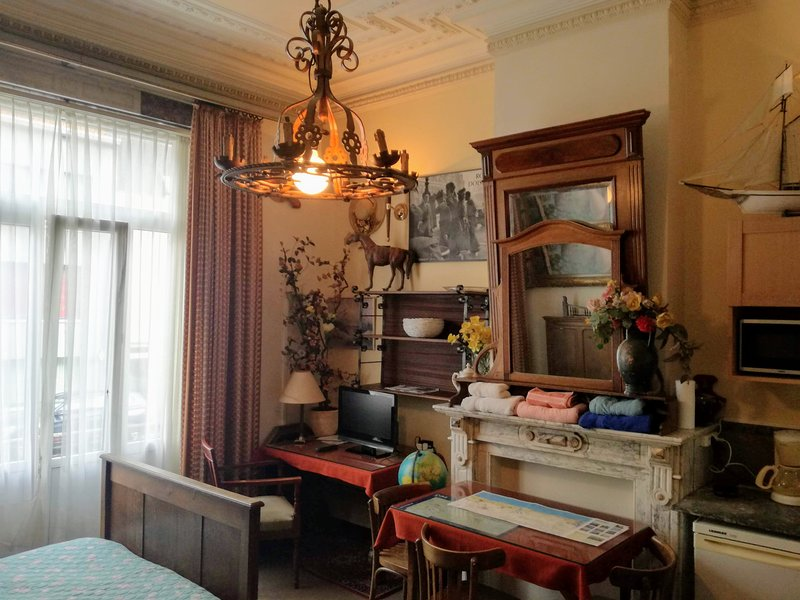 4 SPACIOUS  ROOMS IN FORMER STUDENT - MANOR HOUSE, holiday rental in Ostend