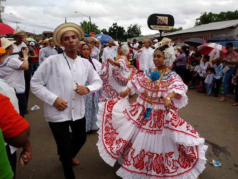 Hora de Carnivale (Fiesta) en Pedasi