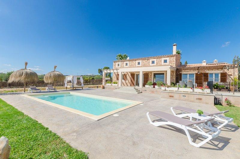 EL PARAISO (PORTO CRISTO) - Villa for 6 people in Porto Cristo, vacation rental in Porto Cristo