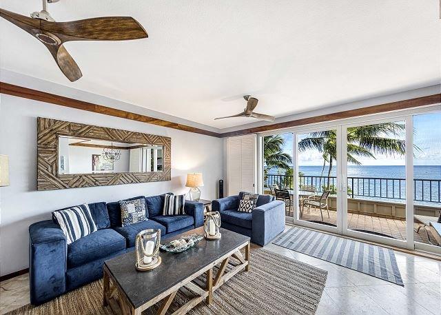 Ocean Bliss Whalers Cove 231 ON THE OCEAN, holiday rental in Kauai