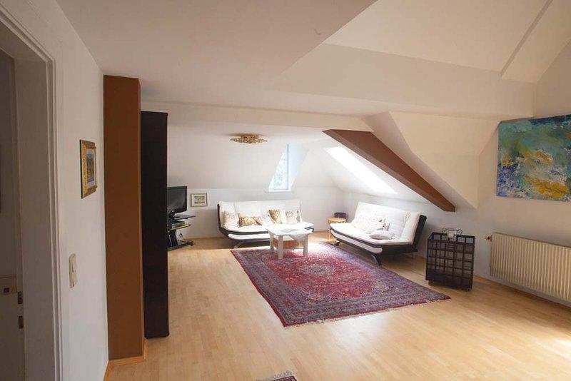 Appartement 1 op de zolder van de villa
