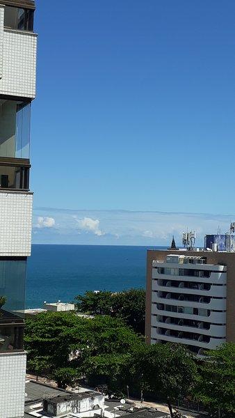 Cobertura vista mar no circuito do carnaval Ondina, perto do Farol da Barra e p, casa vacanza a Salvador