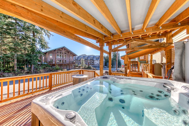 Spacious and bright Mt. Hood lodge among the trees near Skibowl, holiday rental in Timberline Lodge