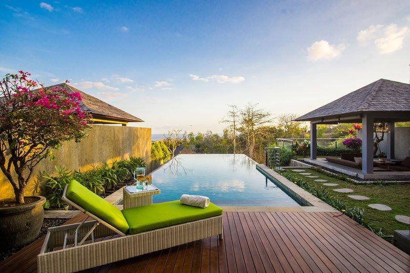 Absolute Ocean View Villa in Bali, vakantiewoning in Ungasan