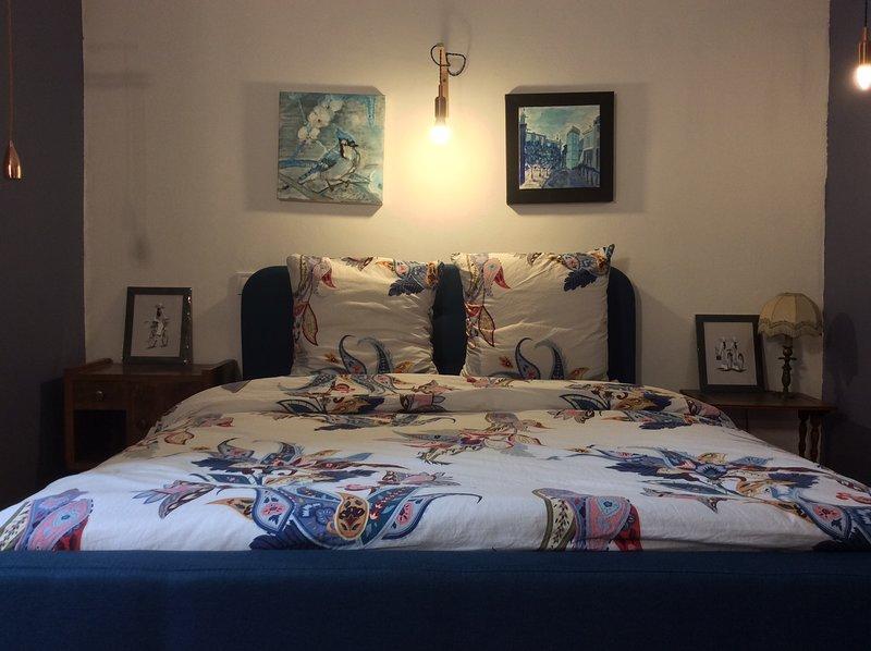 Chambre Double La Cigale dans Maison d'artIste, holiday rental in Pierrelatte