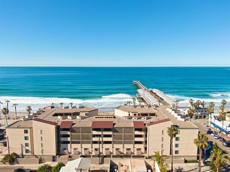 Pacific Beach Condo On The Boardwalk