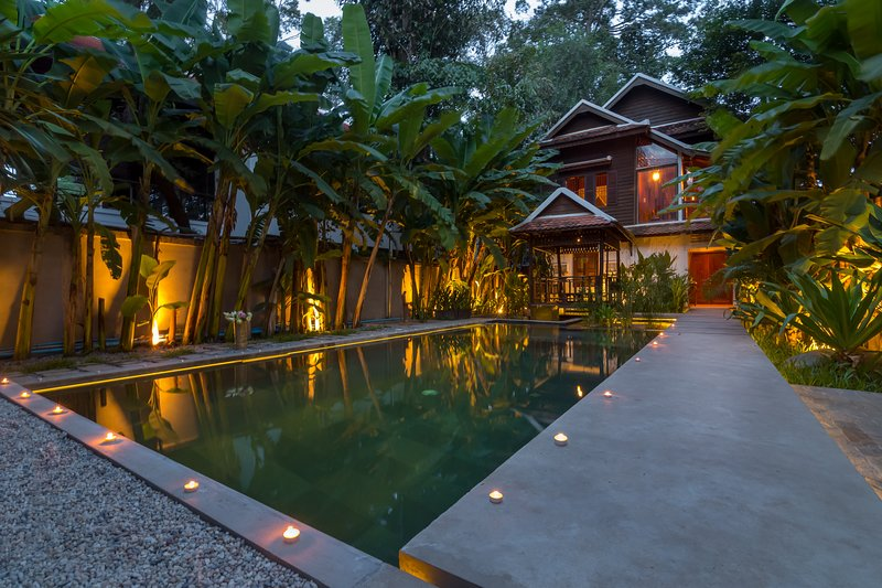 Wat Po House , Siem Reap private pool villa, location de vacances à Province de Siem Reap