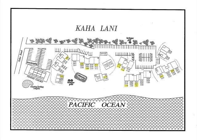 Mappa di Kaha Lani