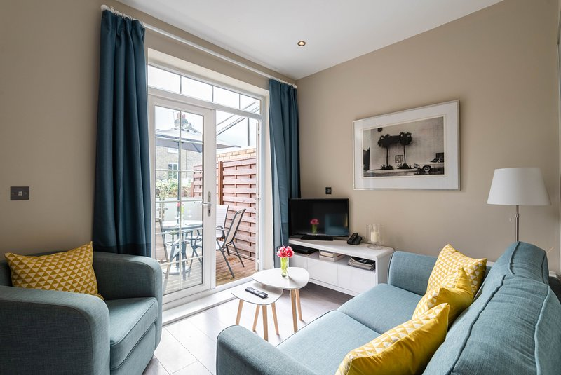 Stylish Fulham Home close to the River Thames, alquiler de vacaciones en Chiswick
