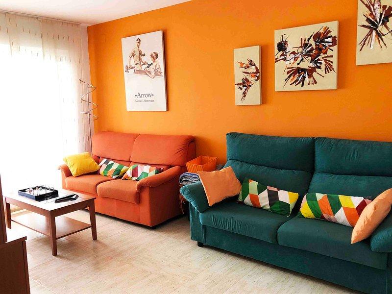 Apartamento en la Playa, Oropesa del Mar (España), holiday rental in Oropesa Del Mar