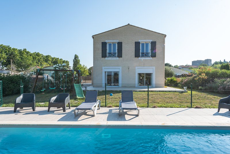 Bastide du Prévot, maison avec piscine au calme, vacation rental in Carcassonne Center