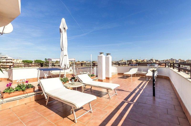 Gianicolo house - La terrazza delle meraviglie, alquiler vacacional en Il Casaletto
