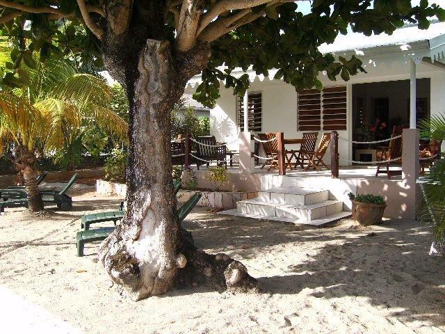 MAISON ALIZE GRANDE ANSE D'ARLET LES PIEDS DANS L'EAU, vacation rental in Les Anses d'Arlet