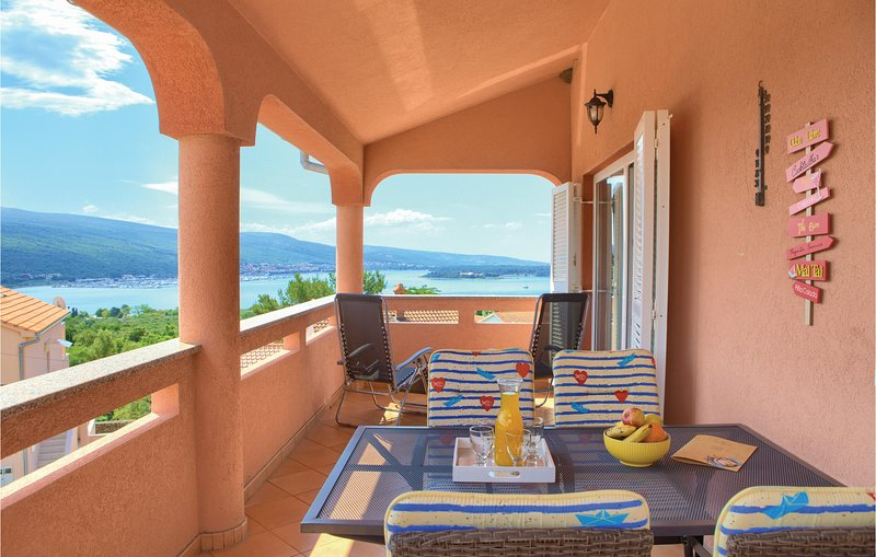 Awesome apartment in Kornic with WiFi and 2 Bedrooms (CKI106), holiday rental in Kornic