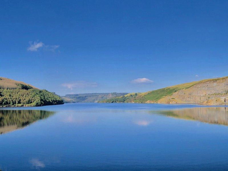 Visit nearby Llyn Brianne Reservoir - stunning!