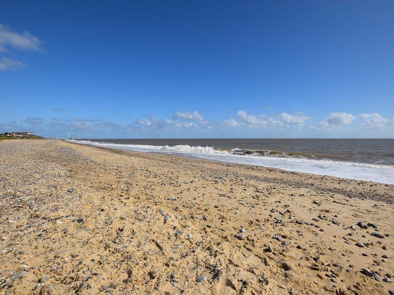 Stroll down to the dog friendly beach
