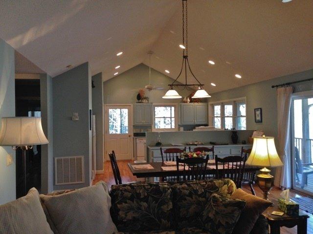 Treetop Mtn Home Fireplace