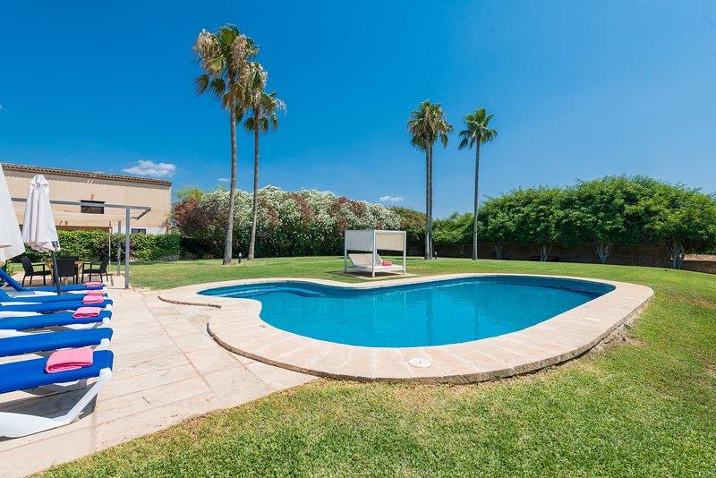 VILLA CAN RITO, vacation rental in Felanitx