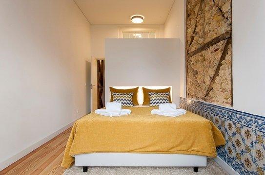Sovrum med eget badrum