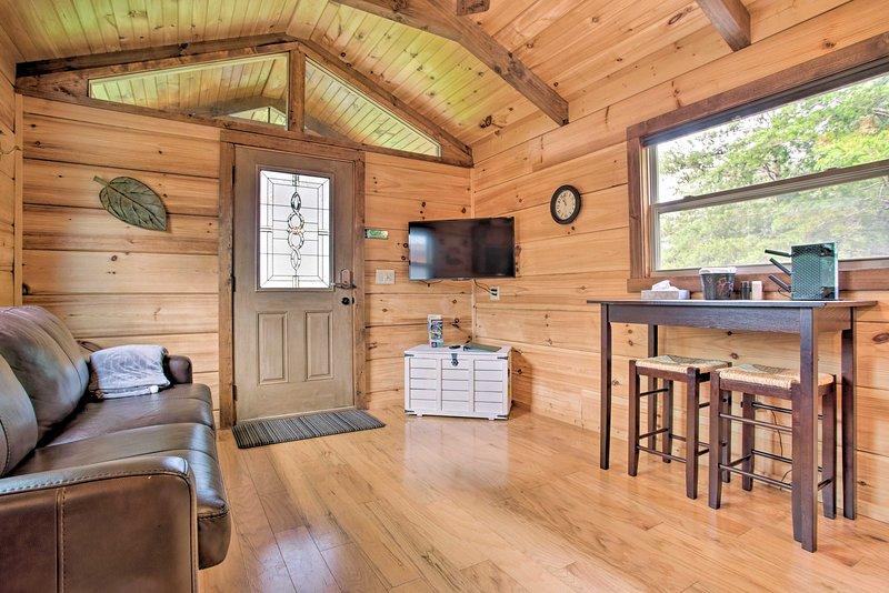 Mill Spring Cabin Near Parker-Binns Winery!, holiday rental in Mill Spring