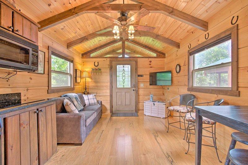 Cabin in Mill Spring Near Parker-Binns Winery, holiday rental in Mill Spring