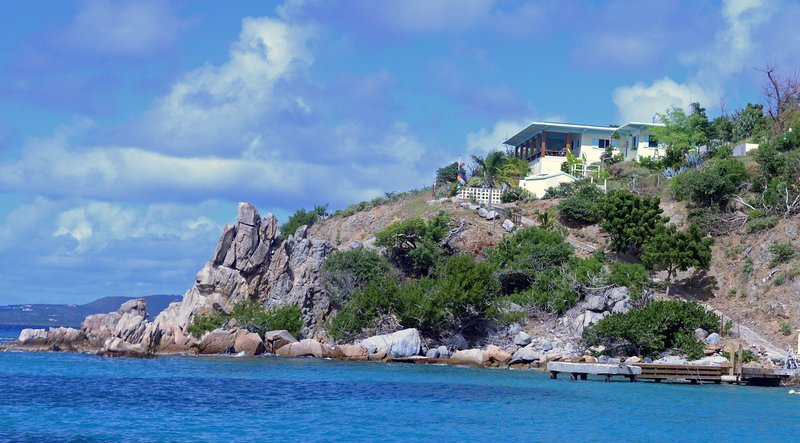 Quart-A-Nancy Point, Cooper Island, BVI, holiday rental in Little Trunk Bay