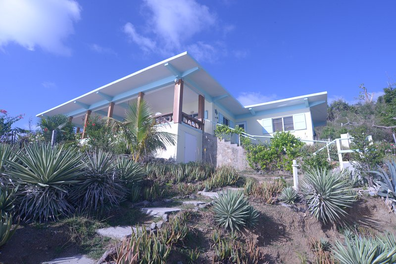 Outside View - The house at Quart-A-Nancy Point, Cooper Island, BVI