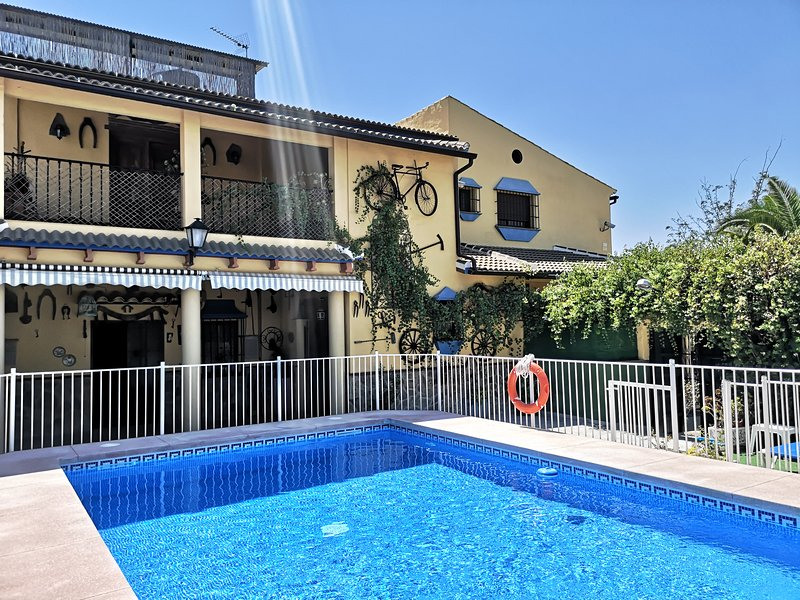 Amazing villa with swimming-pool, holiday rental in Puente Genil