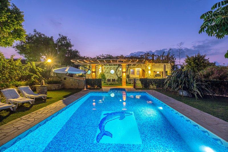Niko's art Villa, location de vacances à Perivolia