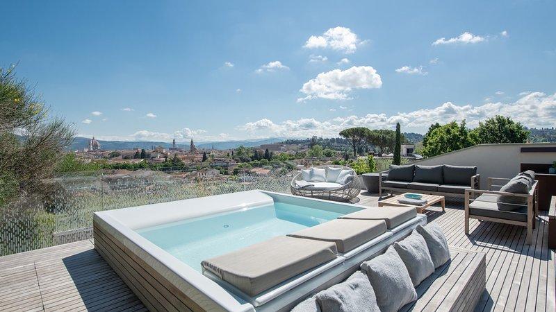 Luxury villa Colle Infinito, alquiler vacacional en Montanino