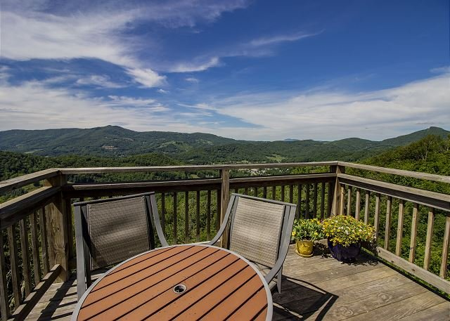 Best Views in Sugar Moutain, Beautifully Decorated, holiday rental in Sugar Mountain