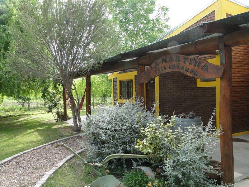 La Martina Casa de Campo, alquiler vacacional en Provincia de Mendoza