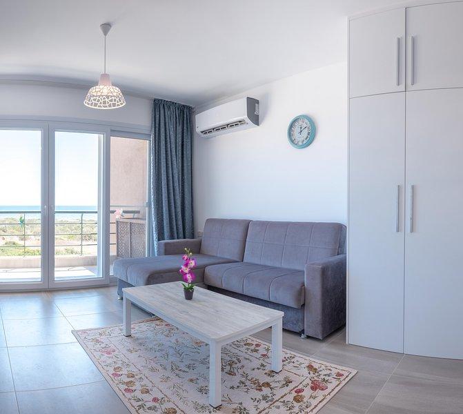 Frigga Home Studio With Sea view, alquiler vacacional en Yeni Erenkoy