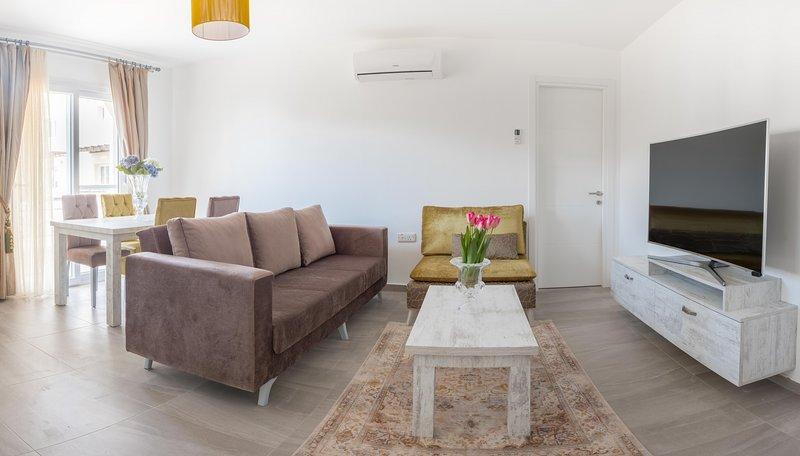 Parvati Apartment with Sea View, alquiler vacacional en Yeni Erenkoy