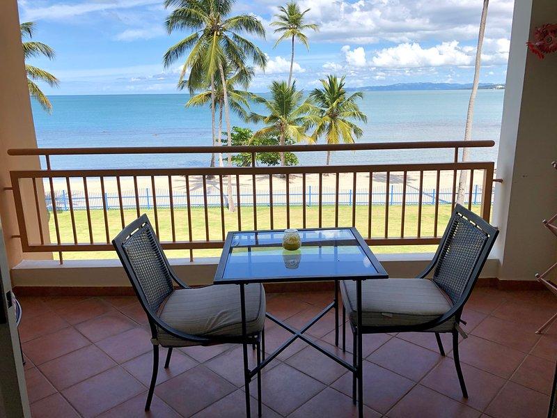 Haciendas del Club beachfront 1-305 1 br w/WiFi, full A/C, screens, laundry, vacation rental in Cabo Rojo
