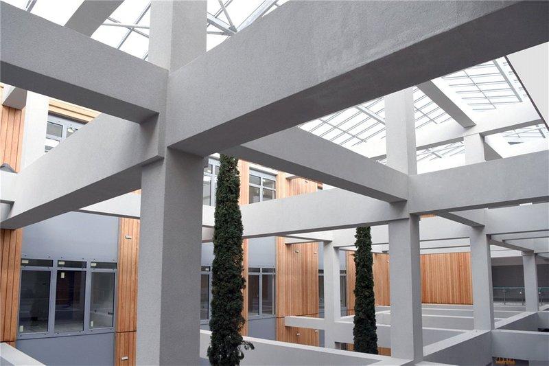 Deuxième étage vue du jardin intérieur