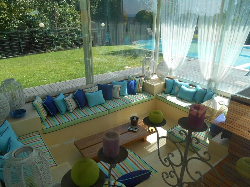 Apartment with shared pool, holiday rental in Viverone