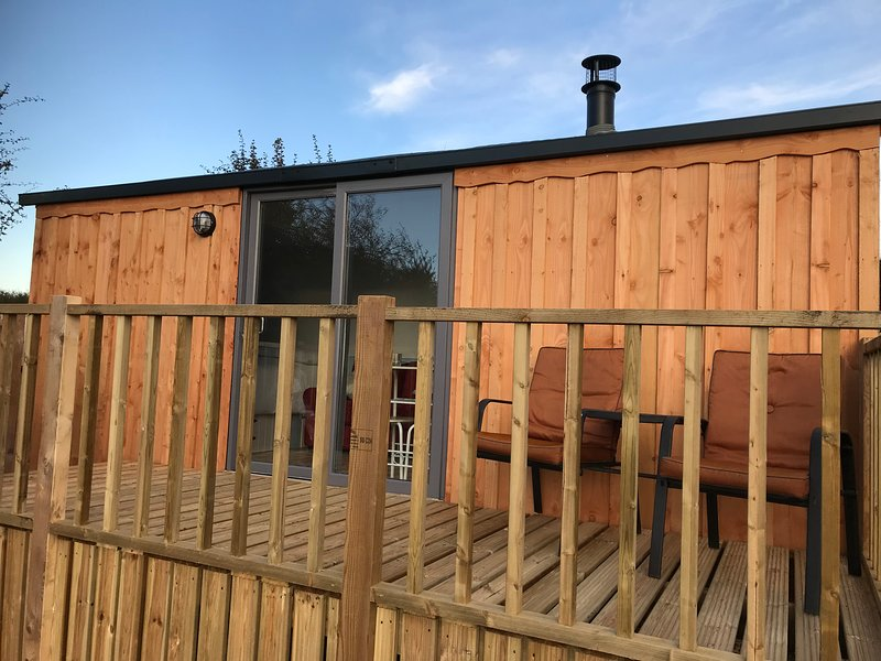 Aberaeron Shepherd's Hut, alquiler de vacaciones en Ceredigion
