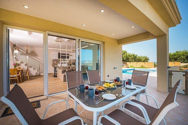 2 Bedroom Villa Hill, Sarakina, Zakynthos, holiday rental in Laganas