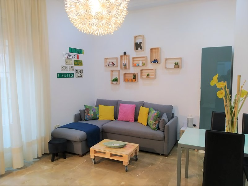 Moderno apartamento en pleno centro. Parking & Wifi, location de vacances à Villamena