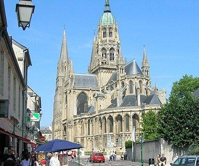 appartamento a pochi metri dalla cattedrale di Bayeux