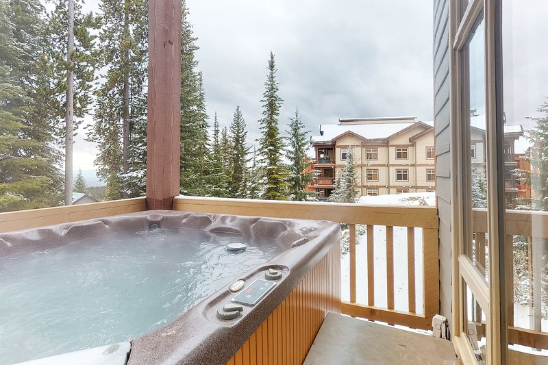 Photo of NEW LISTING! Dog-friendly ski-in/ski-out chalet w/ private hot tub & garage