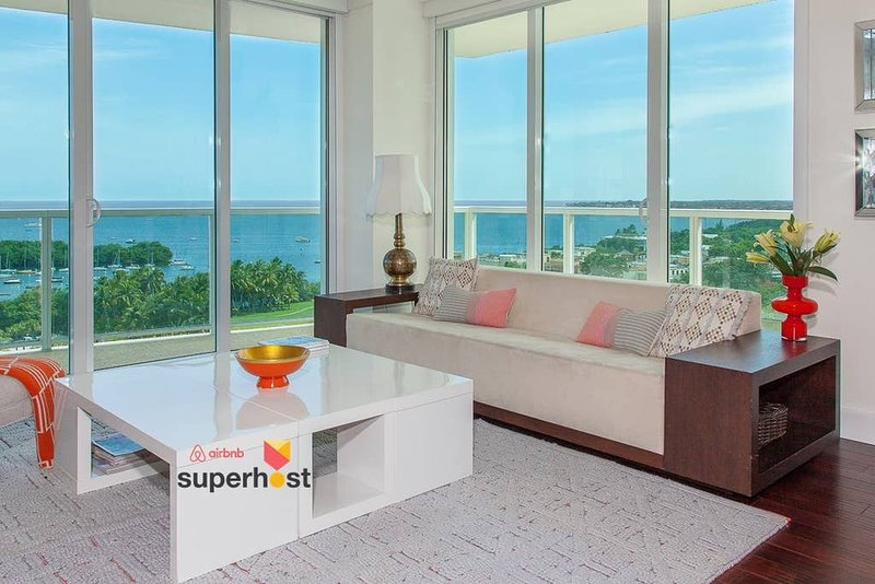 ★Luxury Designer Oceanfront★Free Parking★180-degrees Views!★Pool!★Coco, vacation rental in Miami