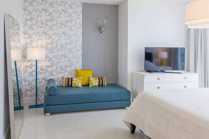 Master bedroom, Smart TV