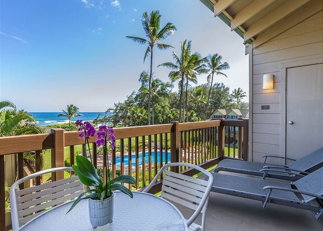 Kaha Lani Resort #311, Great Ocean and Sunrise Views, Steps to Sandy Beach, holiday rental in Lihue